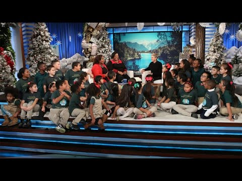 Ellen Catches Up with an Incredible South Central School