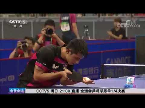 (Eng Sub) Zhang Jike's Story at 13th National Games -- CCTV 5