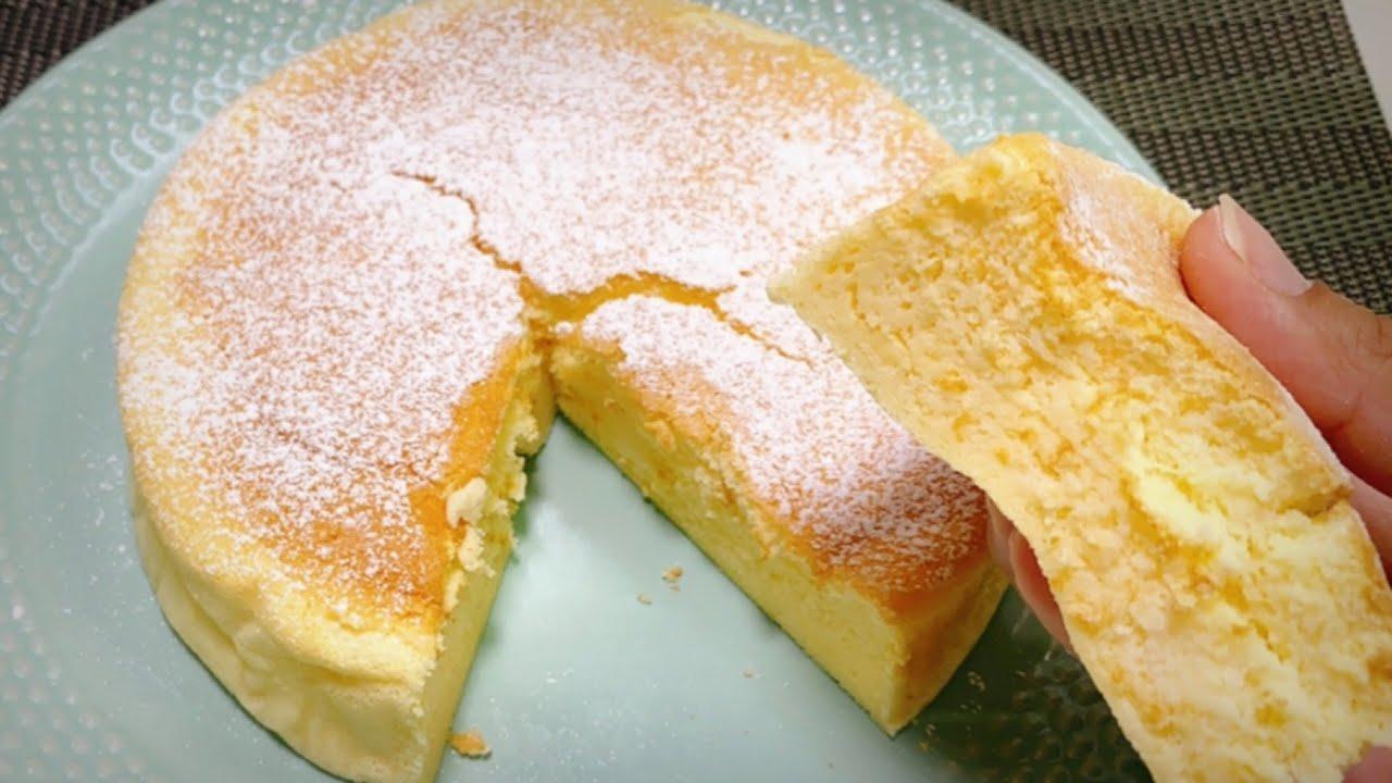 Pastel de QUESO JAPONÉS super esponjoso! RECETA NUEVA! no sabe a huevo!