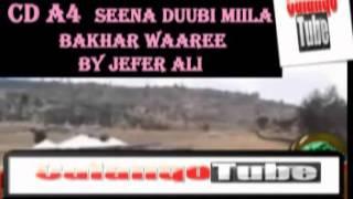 CD A4     Seena Duubi Miila Bakhar Waaree By Jafar Ali