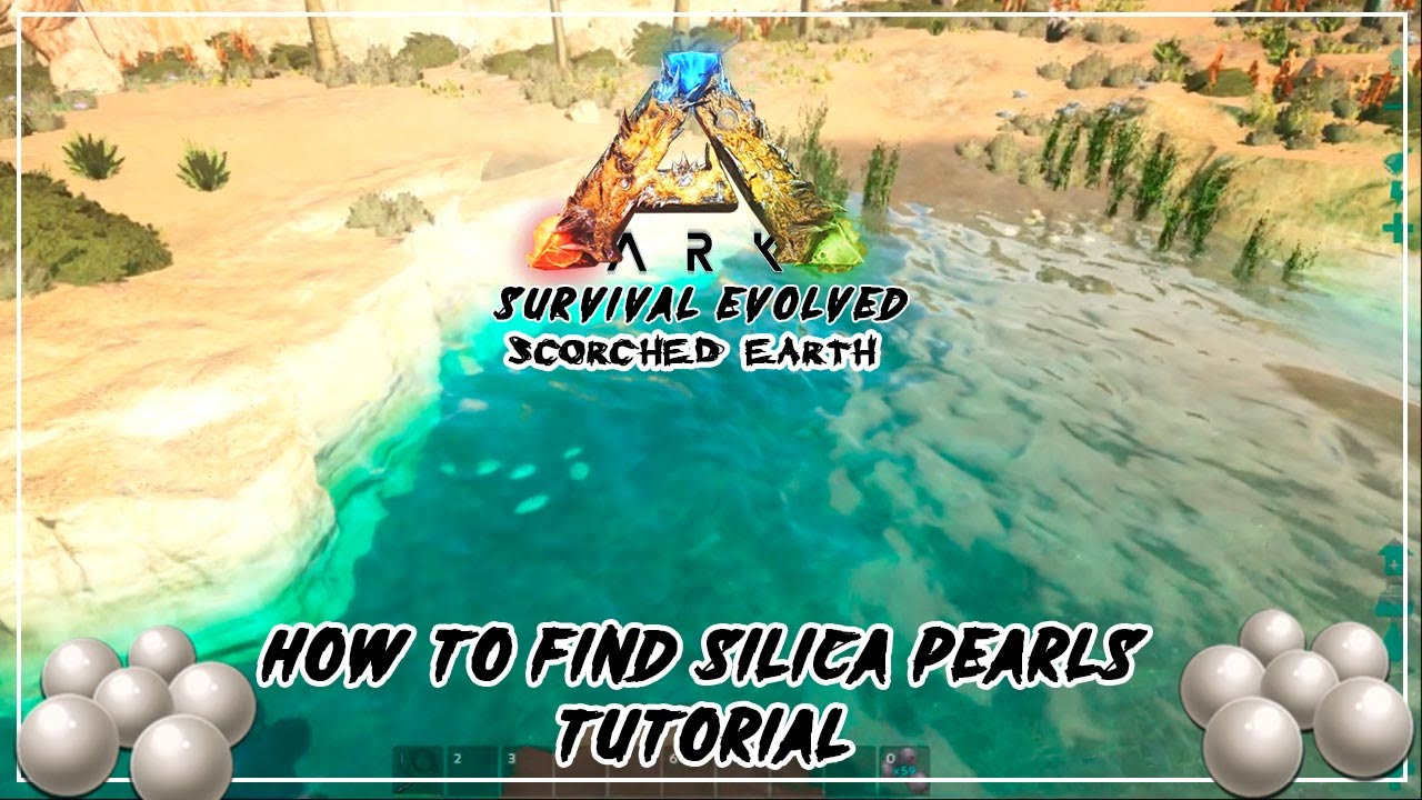Ark Scorched Earth How To Find Silica Pearls On Land In Water Tutorial Youtube A complete list of ark creature ids specific to the scorched earth dlc. ark scorched earth how to find silica pearls on land in water tutorial