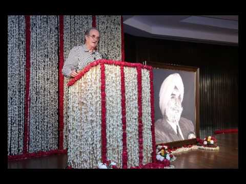 KPS Gill's Memorial: Speech by Sir Mark Tully