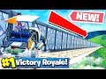 DEADLY  RACE TRACK CHALLENGE IN FORTNITE VS GIRLFRIEND   Playground Mode