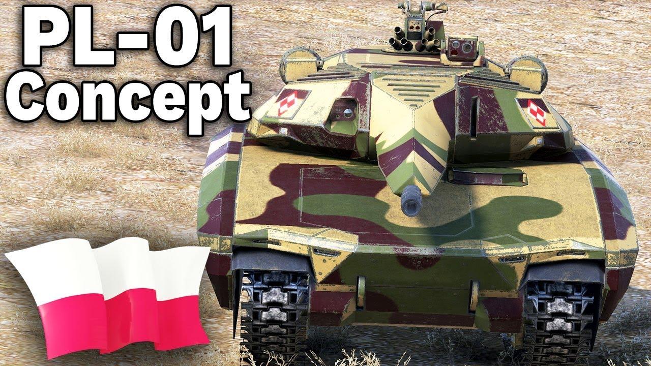 Pl 01 Concept W World Of Tanks Mod Youtube