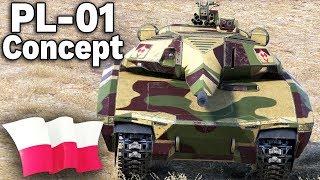 PL-01 Concept w World of Tanks - MOD