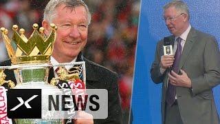 Sir Alex Ferguson wehmütig: