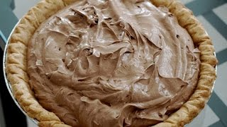Chocolate French Silk Pie | EASY TO LEARN | QUICK RECIPES