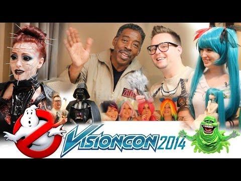 Ernie Hudson Interview - Ghostbusters - VISIONCON 2014!