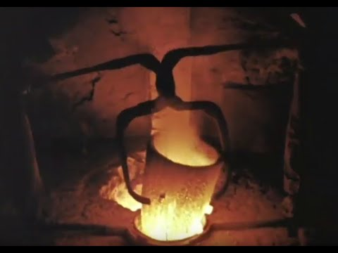 Bronze Casting by the Lost-Wax Method:    Documentary - Bronze River Of Metal, 1972