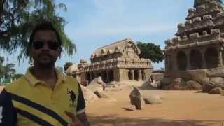 Pancha Rathas - Mystical chariots from 7th century at Mahabalipuram - Ep 18