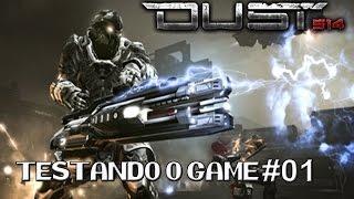 Testando o Game Dust 514 Online #1 - Jogo grátis PS3 - Jogo de tiro - PTBR