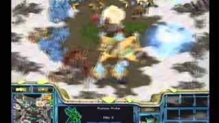 [2002.11.15] 2002 Panasonic배 온게임넷 스타리그 16강 A조 1경기 (아방가르드 II) 박정석(Protoss) vs 강도경(Zerg)