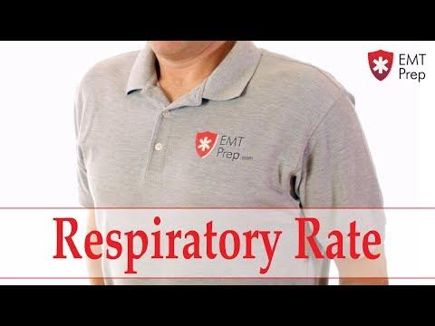 How To Count A Respiratory Rate - EMTprep.com