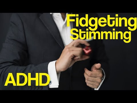 Fidgeting Might Help Students with Attention deficit hyperactivity disorder Learn