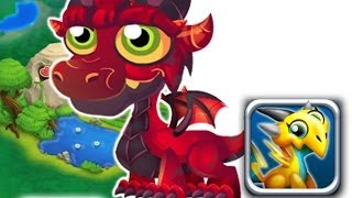 How to breed Deep Red Dragon 100% Real! Dragon City Mobile!