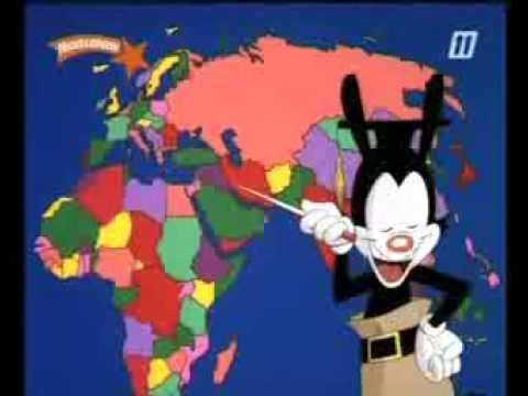 Yakko alle landen van de wereld animaniacs songtekst youtube - De thuisbasis van de wereld chesterfield ...