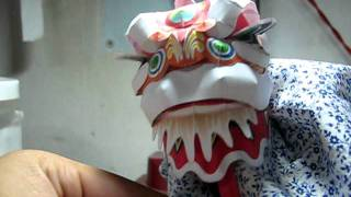 [Canon PaperCraft] Lion Dance head by CauConCoc