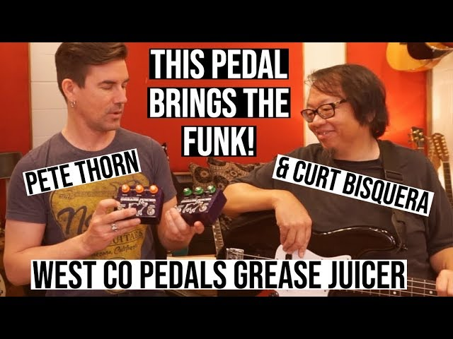 WEST CO PEDALS GREASE JUICER