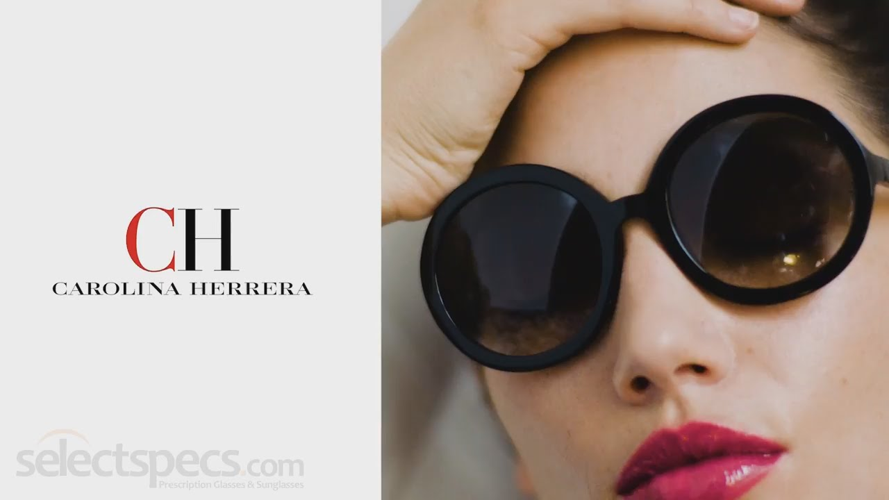 6572c4ba524 CH Carolina Herrera 2016 Eyewear Behind the scenes - With ...