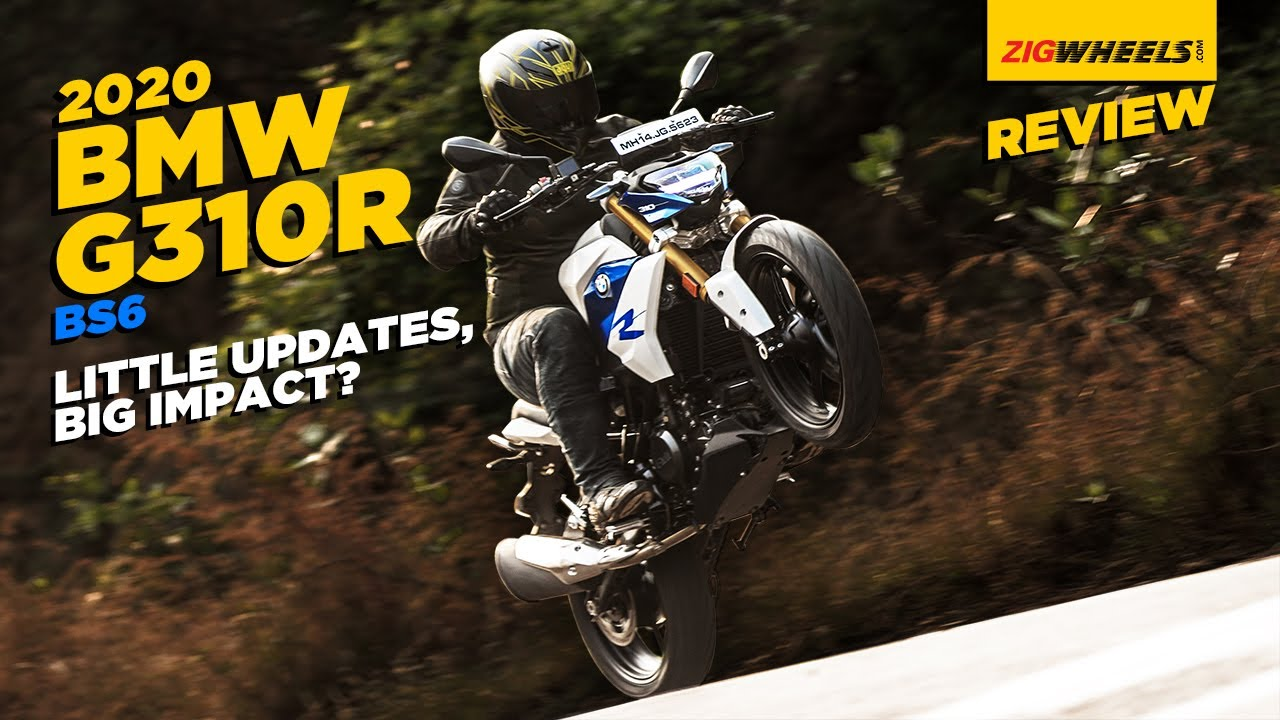 BMW G 310 R BS6 Road Test Review | Bavaria Bounces Back | ZigWheels.com