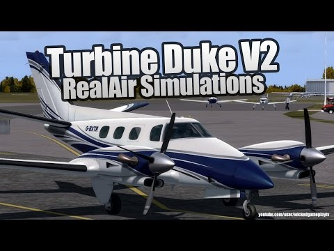 RealAir Turbine Duke V2 Flying in New Zealand - FSX | Prepar3d