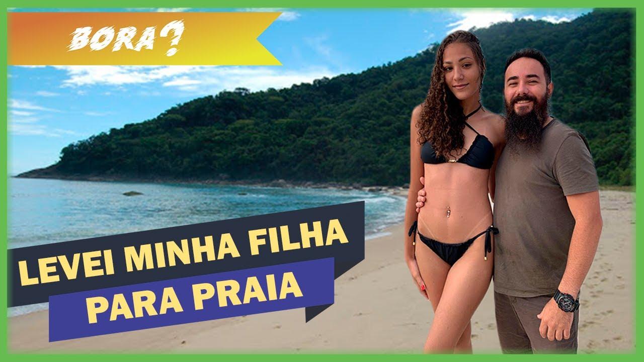 """Levei minha filha para conhecer a Praia Brava em Florianópolis - """"Bóra?"""" Ep. 13"""