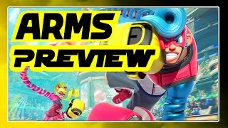 ARMS Preview - Prügelei gegen ArazhulHD auf ARMS-Event - Nintendo Switch