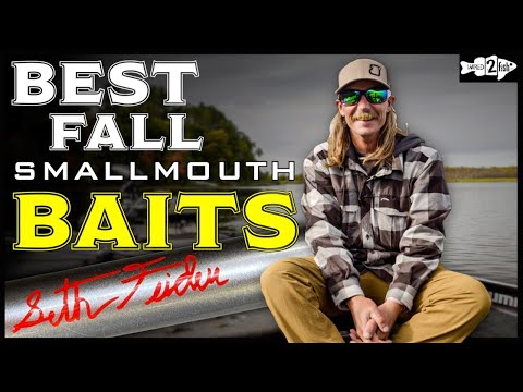 9 Lures For Fall Smallmouth Bass Fishing With Seth Feider