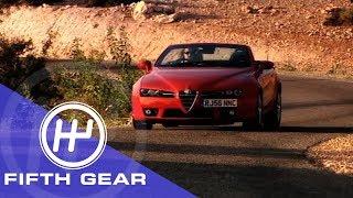 Fifth Gear Alfa Romeo Spider Review смотреть