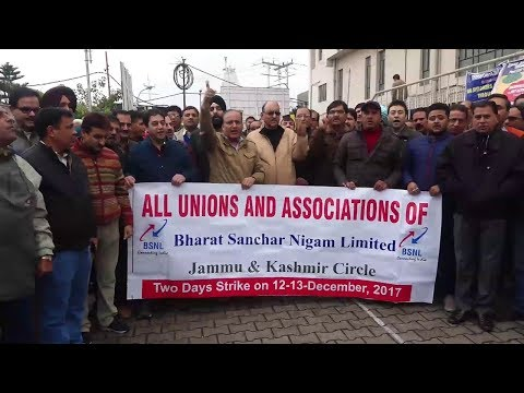 BSNL strike for pay revision