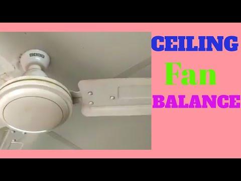 Ceiling Fan Balance