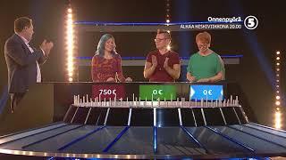 Legendaarinen gameshow Onnenpyörä alkaa! TV5 KE 20.00