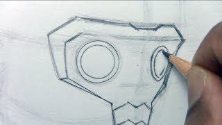 How To Draw Star-Lord (Part 1 of 3)