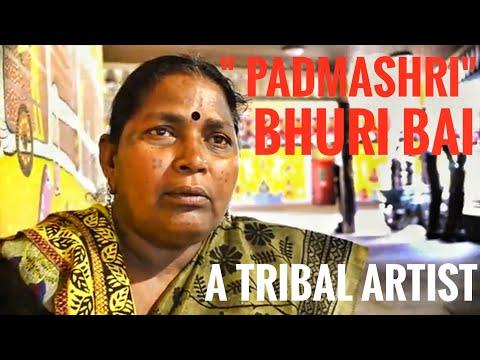 Bhoori bai - a tribal artist ,Bhopal( Madhya Pradesh) | Indias First Pithora Painter