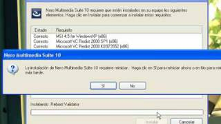 Descargar e instalar Nero Multimedia Suite 10 + serial + full