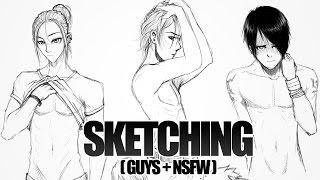SKETCHING - Guys + NSFW