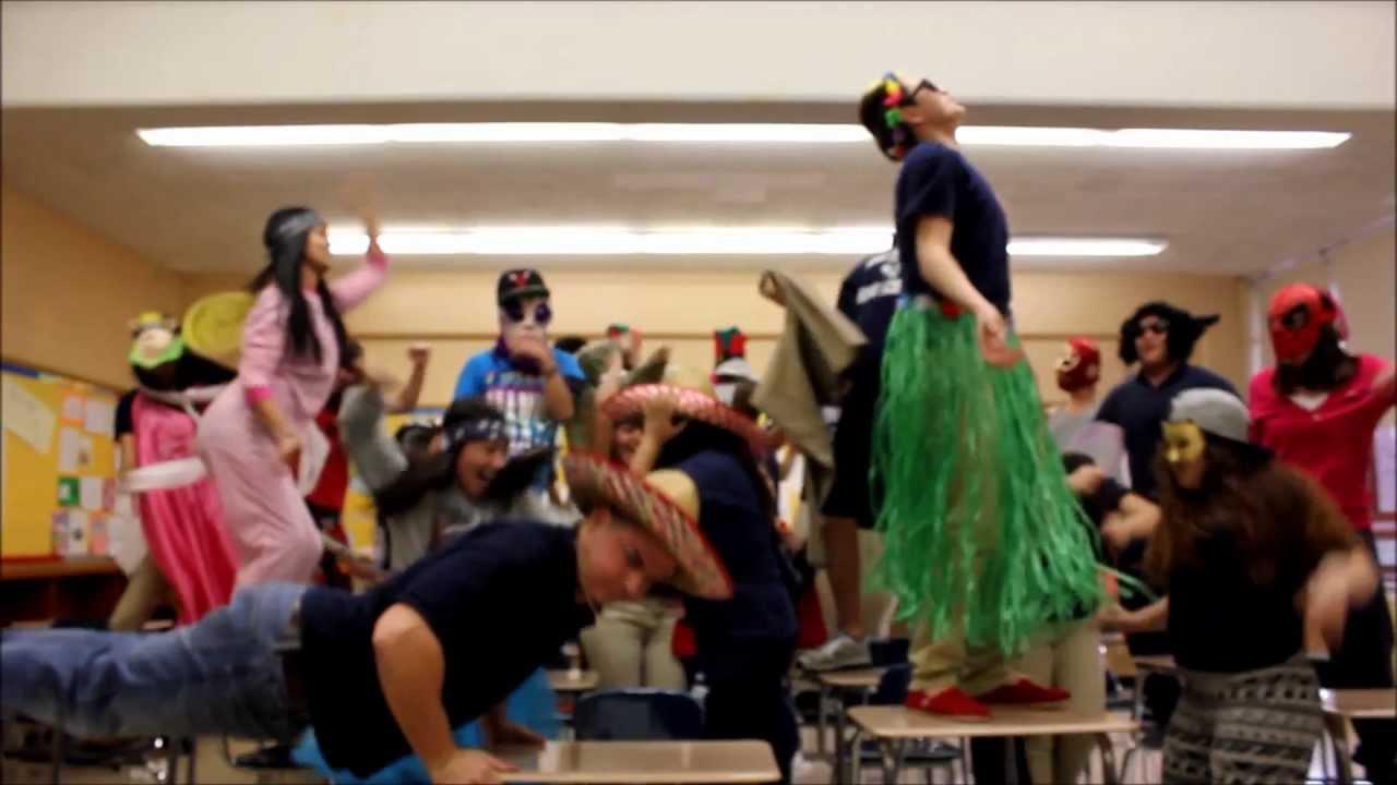 George Washington High School IB students Harlem Shake  YouTube