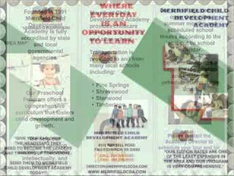 Falls Church - Merrifield Child Development Academy - Pre School Now Enrolling