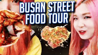 Korean Streamer brings you to the Busan Night Market - Food tour with HAchubby!
