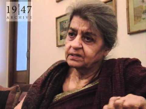 Dr. Hameeda Hossain lived in Hyderabad, Sindh, during 1947