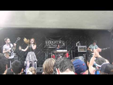 Nothing's Wrong - Echosmith Live On Vans Warped Tour 2013