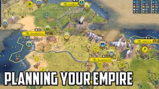 I talked about how to plan your empire - Civ 6 Overexplained Arabia Let's Play Ep 2