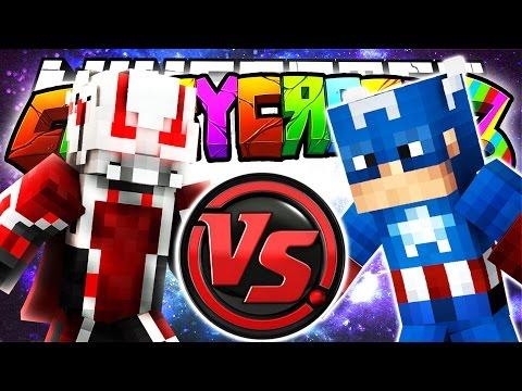 Minecraft Crazy Craft 3.0: Random Superhero Wager Match! (Superheros Mod)! #104