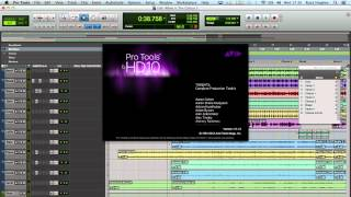 Pro Tools 10 Running On Apple OS X 10.8 Mountain Lion Test