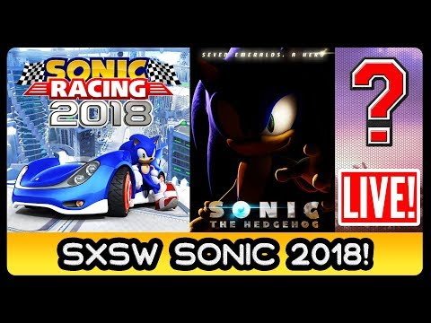SXSW SONIC PANEL 2018 LIVE REACTIONS - #Racing #ManiaDLC #ManiaAdventures #Movie #IDWComics #Puma