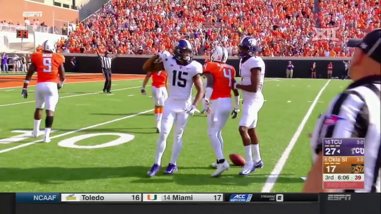 a72d2dc80e TCU vs Oklahoma State Football Highlights - YouTube