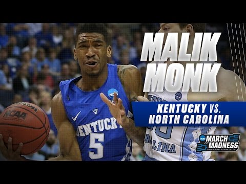 Kentucky vs. North Carolina: Malik Monk scores 12 points for Wildcats