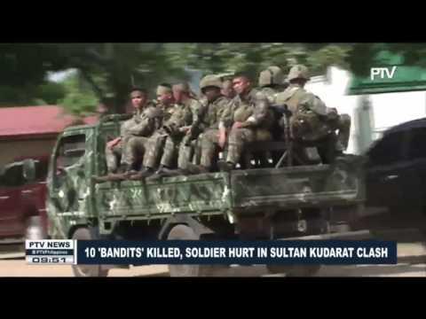 10 'bandits' killed, soldier hurt in Sultan Kudarat clash