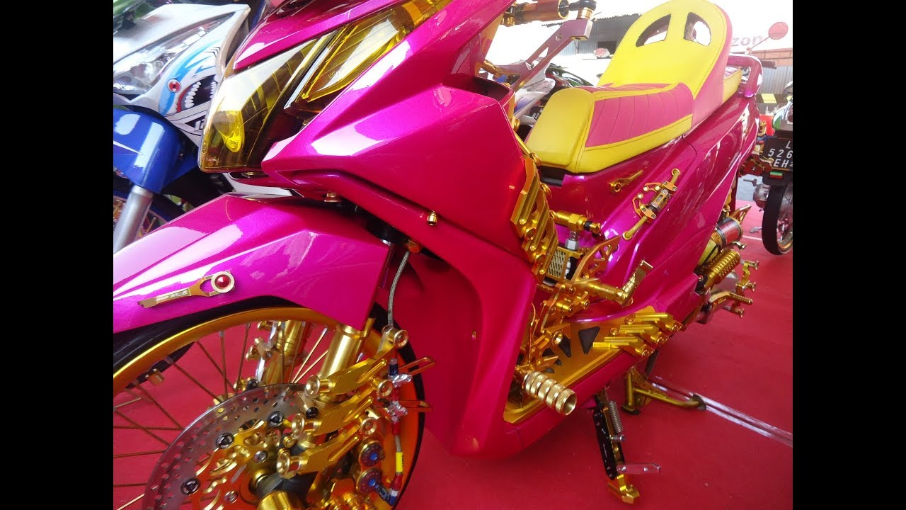 Download Modif Motor Beat Hedon..!! Thailook Style Contest Full Variasi