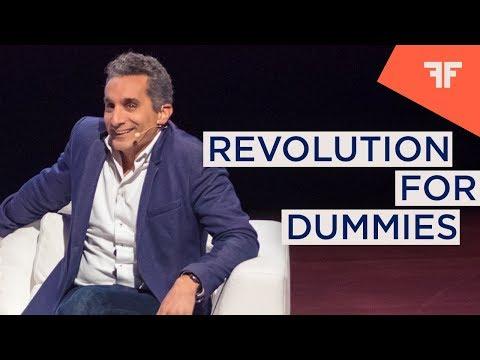 BASSEM YOUSSEF | IN CONVERSATION WITH SRDJA POPOVIC: REVOLUTION FOR DUMMIES  |  OFFinNY